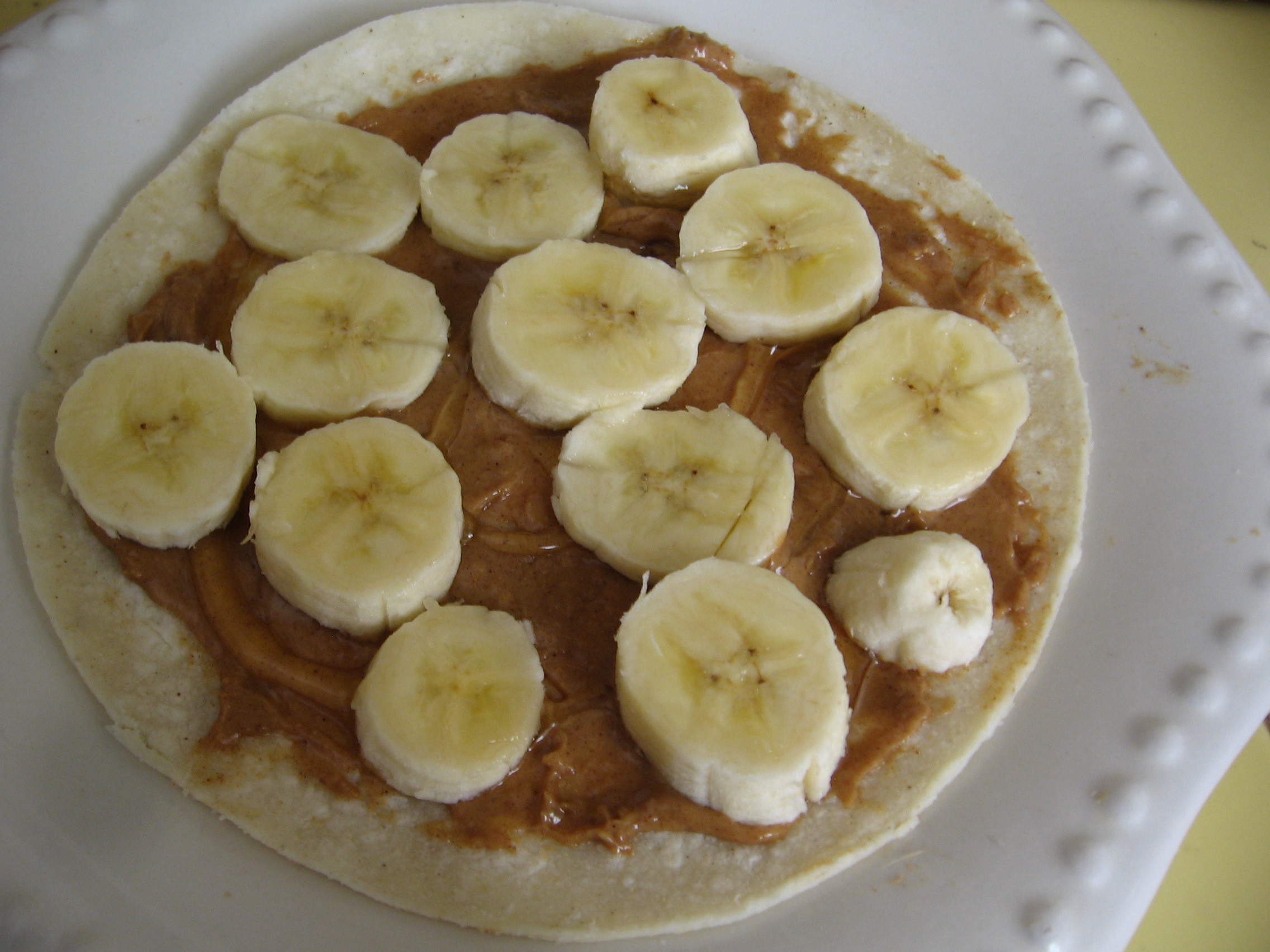 Healthy Peanut Butter Snacks  Healthy Snack – Peanut Butter Banana Quesadilla