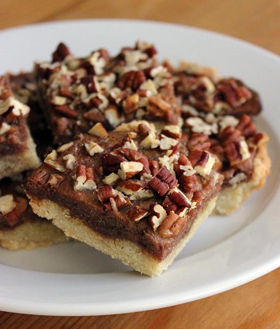 Healthy Pecan Pie Recipe  Healthy Pecan Pie Bars Recipe