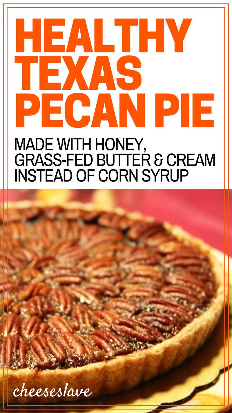 Healthy Pecan Pie Recipe  Healthy Texas Pecan Pie