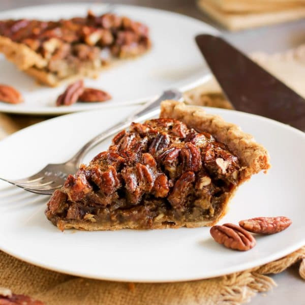 Healthy Pecan Pie Recipe Without Corn Syrup  Healthy Pecan Pie Recipe without the corn syrup butter
