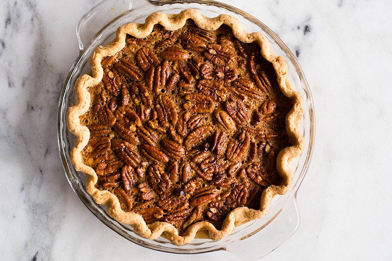 Healthy Pecan Pie Recipe Without Corn Syrup  Healthy Pecan Pie Without Corn Syrup • A Sweet Pea Chef