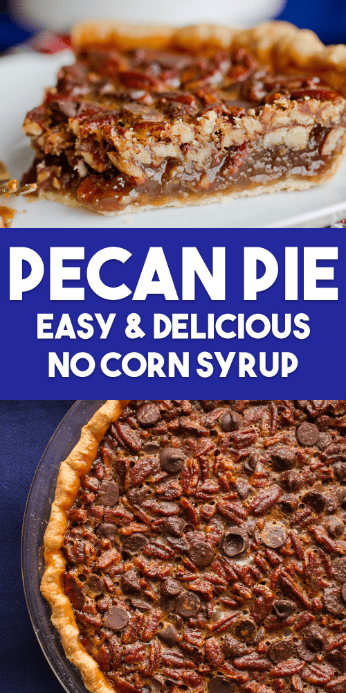 Healthy Pecan Pie Recipe Without Corn Syrup  candy without corn syrup and soy