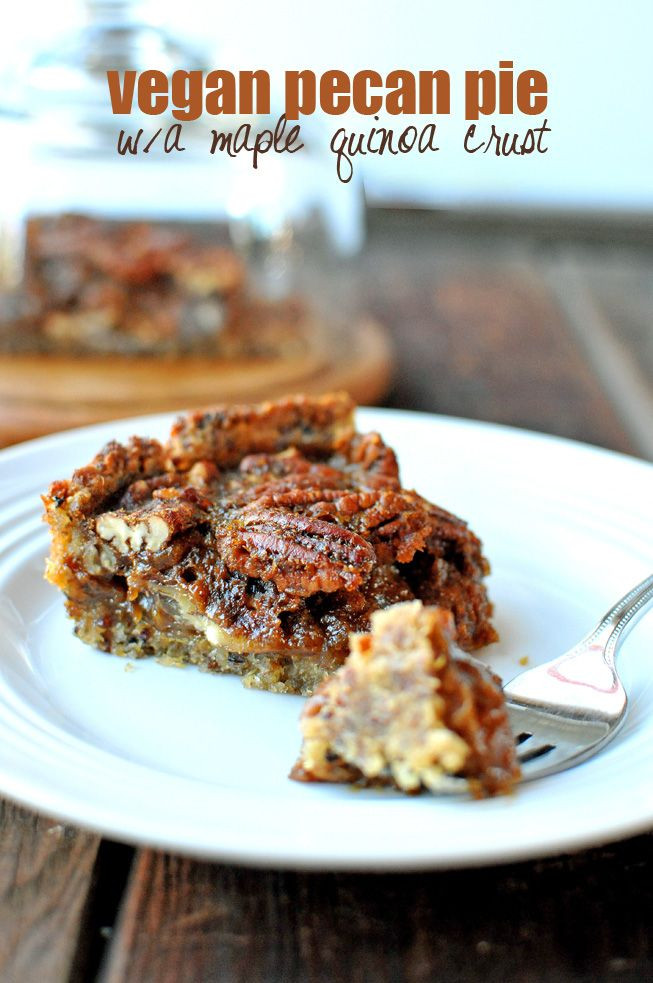 Healthy Pecan Pie Recipe Without Corn Syrup  Decadent Pecan Pie without Corn Syrup Recipe