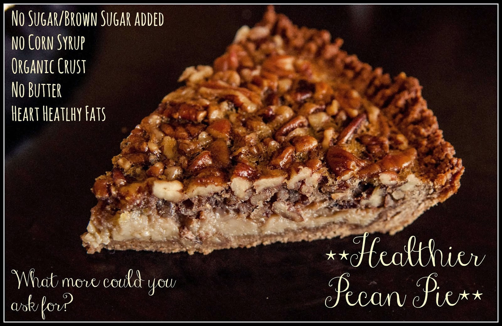 Healthy Pecan Pie Recipe Without Corn Syrup  Healthy Intuitions Delicious Pecan Pie Without the Corn Syrup