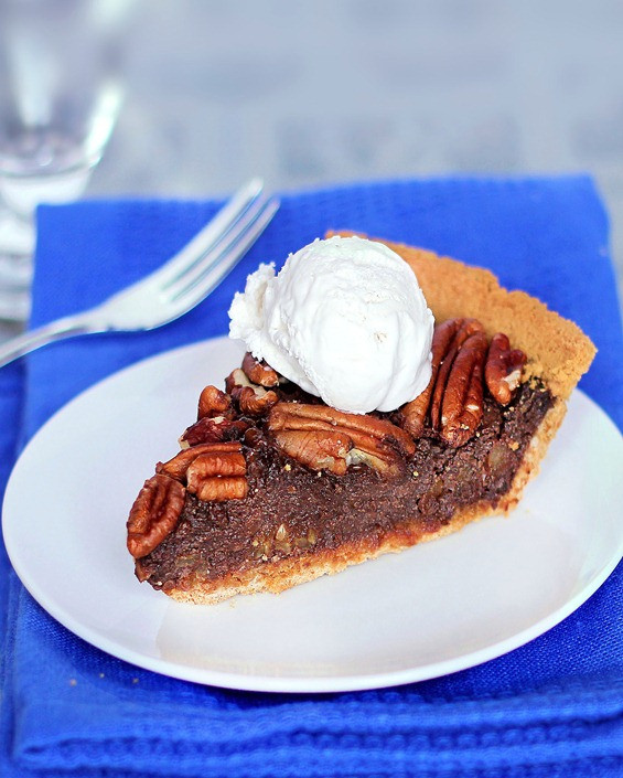 Healthy Pecan Pie  Healthy Chocolate Pecan Pie