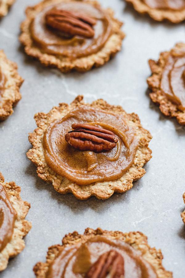 Healthy Pecan Pie  Healthy mini pecan pies Choosingchia