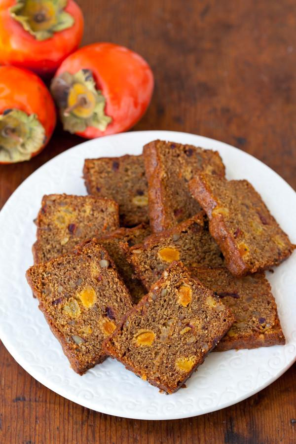 Healthy Persimmon Bread  Whole Wheat Persimmon Bread Recipe