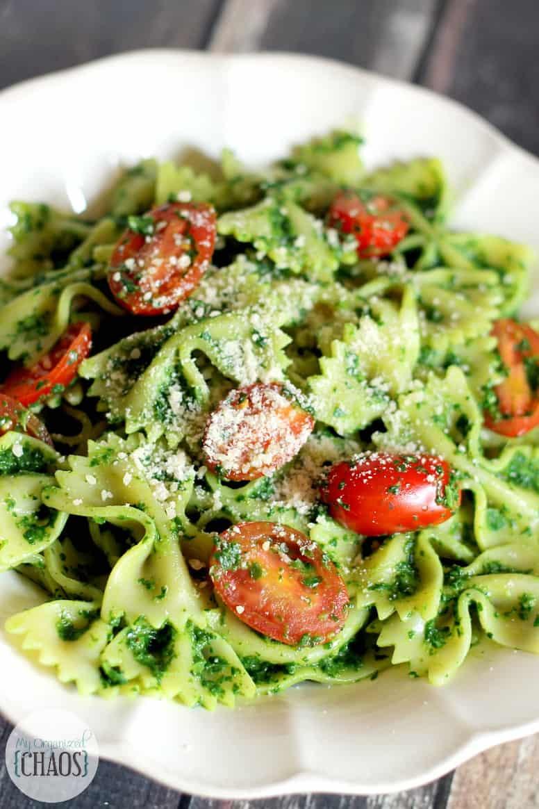 Healthy Pesto Sauce  Healthy Kale Pesto Pasta