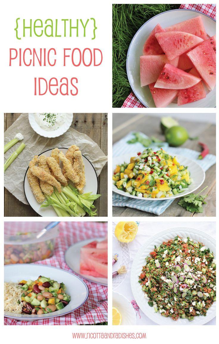 Healthy Picnic Snacks  Healthy picnic food ideas