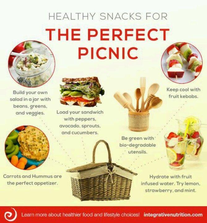 Healthy Picnic Snacks  Perfect picnic Healthy Eats