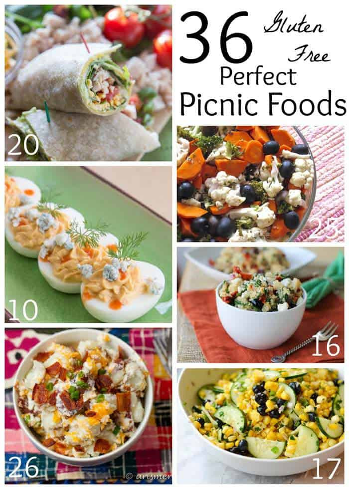 Healthy Picnic Snacks  36 Gluten Free Picnic Foods Cupcakes & Kale Chips