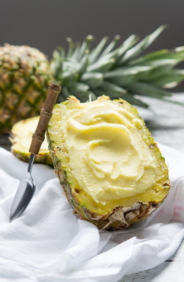 Healthy Pineapple Desserts  healthy pineapple dessert recipes