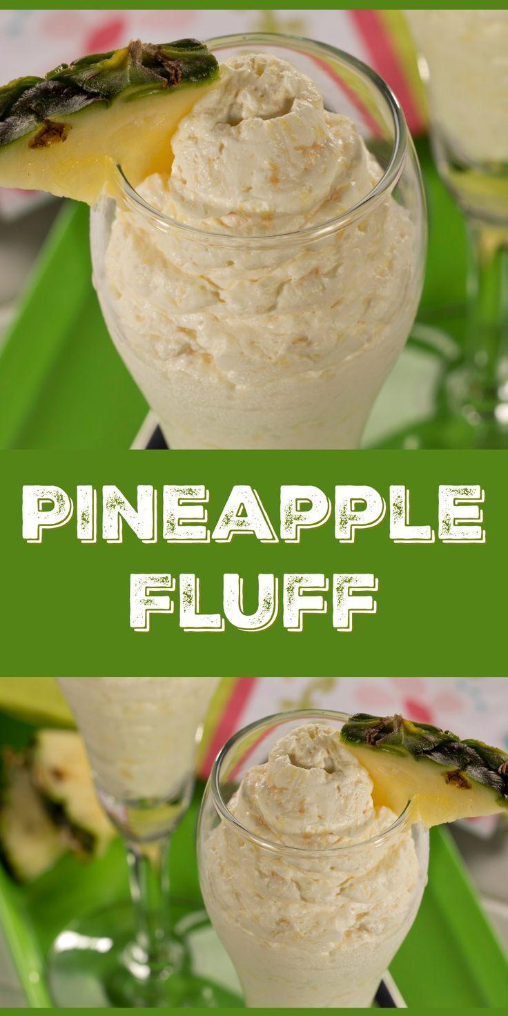 Healthy Pineapple Desserts  Best 25 Pineapple fluff ideas on Pinterest