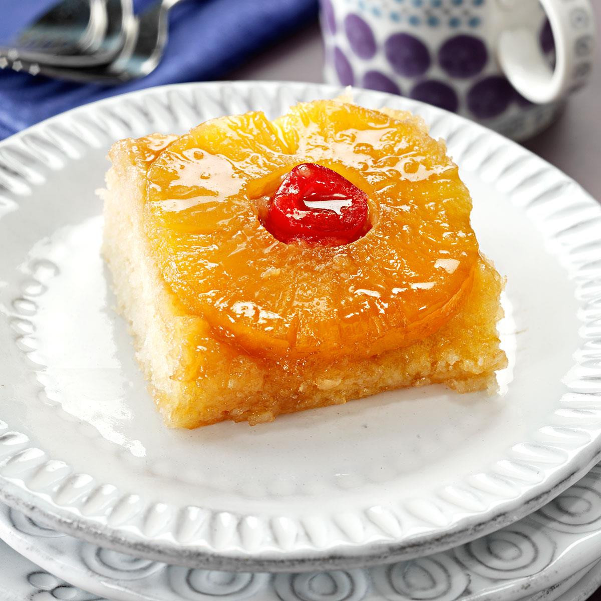 Healthy Pineapple Upside Down Cake  Makeover Pineapple Upside Down Cake Recipe