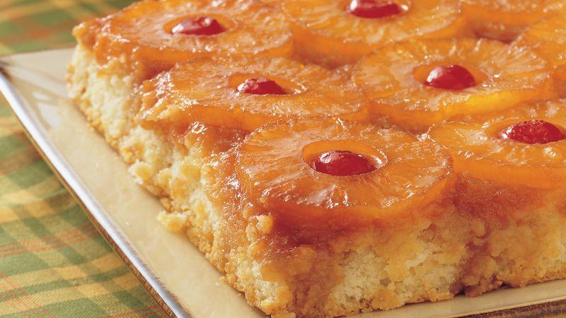Healthy Pineapple Upside Down Cake  Pineapple Upside Down Cake recipe from Betty Crocker