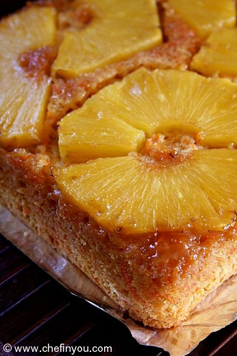 Healthy Pineapple Upside Down Cake  Pineapple Upside Down Cake Recipe with Carrot