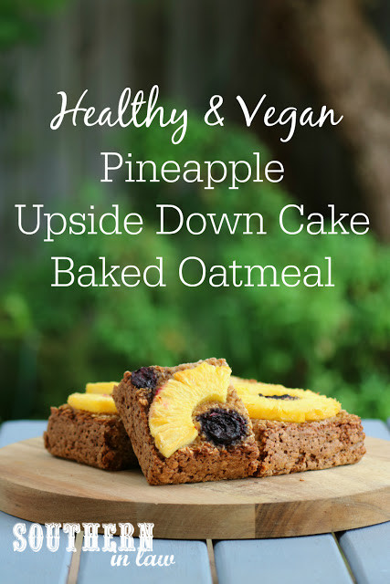 Healthy Pineapple Upside Down Cake  Southern In Law Recipe Healthy Vegan Pineapple Upside