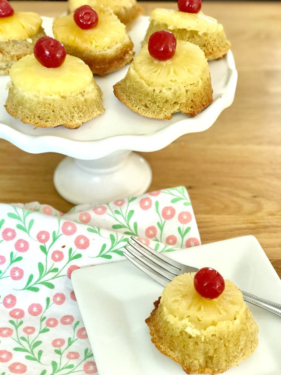 Healthy Pineapple Upside Down Cake  21 Day Fix Pineapple Upside Down Cupcakes Dairy free