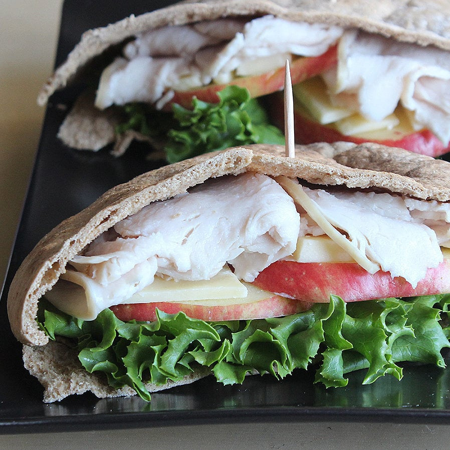 Healthy Pita Bread  Turkey and Apple Pita Pocket