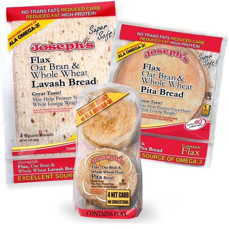 Healthy Pita Bread Brands  JOSEPH S LAVASH Bread just makes me smile Reduced CARBs