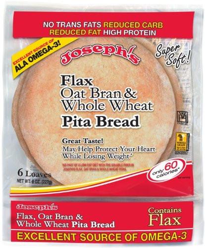 Healthy Pita Bread Brands  Joseph s Pita Bread Review