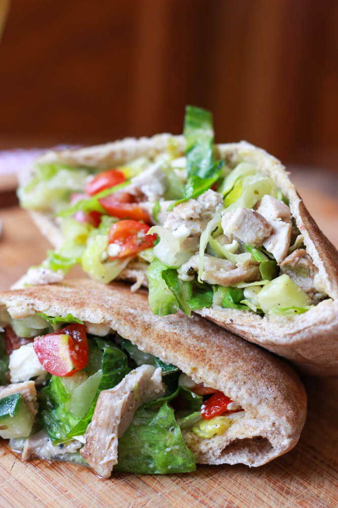 Healthy Pita Bread Recipe  healthy pita bread fillings