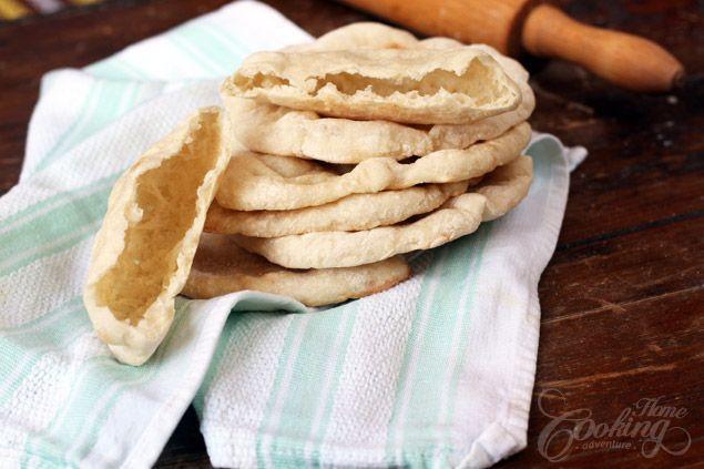 Healthy Pita Bread Recipe  Pita Bread Recipe Favorite Recipes