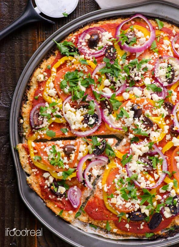 Healthy Pizza Crusts  Cauliflower Pizza Crust Recipe – Recipes for Diabetes