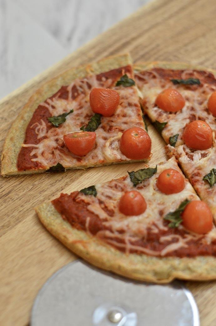 Healthy Pizza Dough Recipe  A Blonde s Moment Healthy Pizza Recipe Quinoa Crust