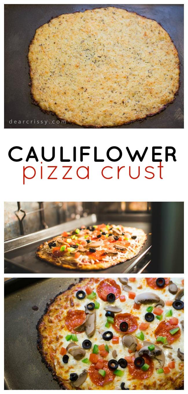 Healthy Pizza Dough Recipe  Cauliflower Pizza Crust Recipe Delicious & Healthy