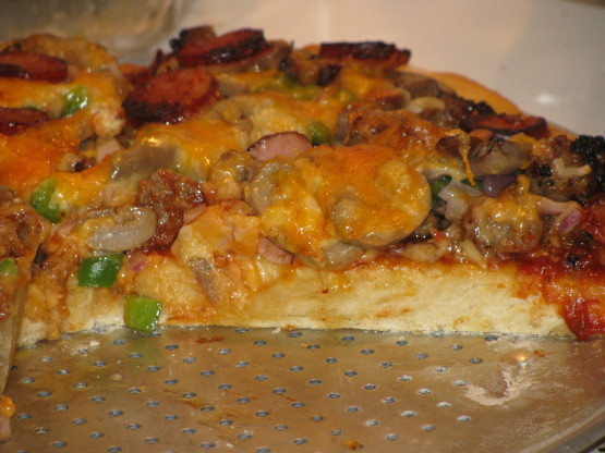 Healthy Pizza Dough Recipe Quick  Quick Beer Pizza Dough Recipe Genius Kitchen