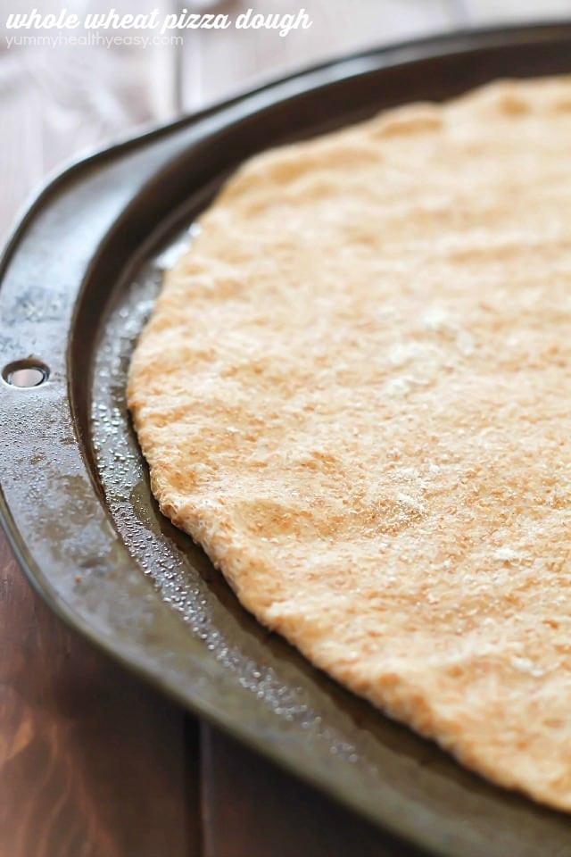 Healthy Pizza Dough Recipe Quick  quick easy whole wheat pizza crust
