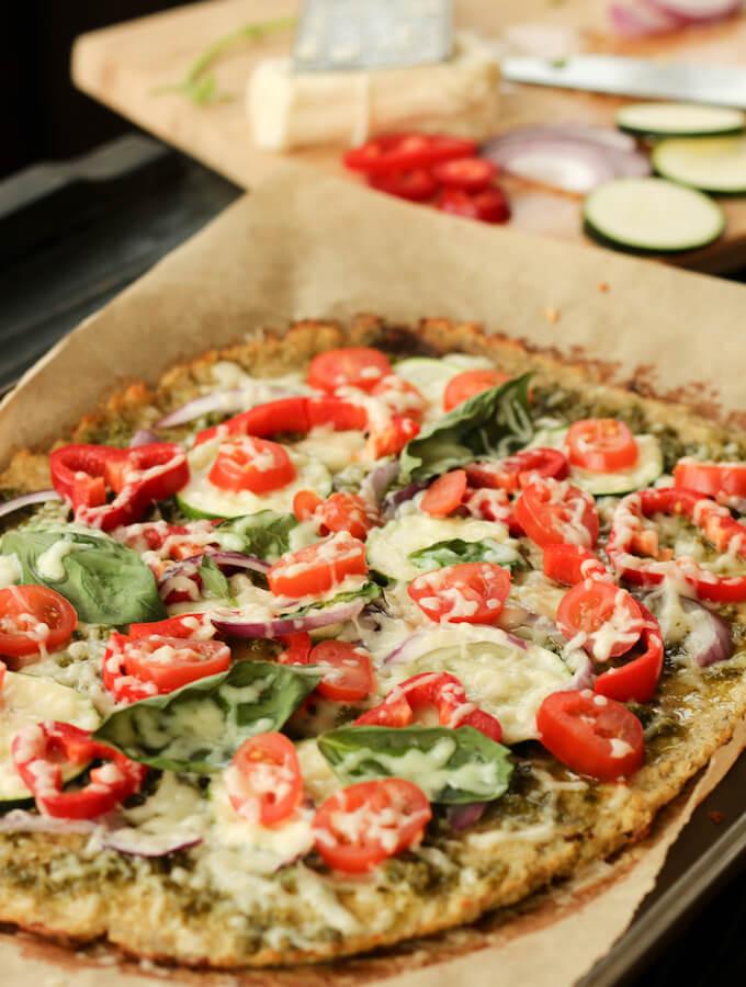 Healthy Pizza Dough Recipe  Healthy Cauliflower Pizza Crust