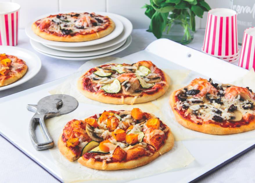 Healthy Pizza Dough  2 Ingre nt Homemade Pizza Dough Healthy Recipe