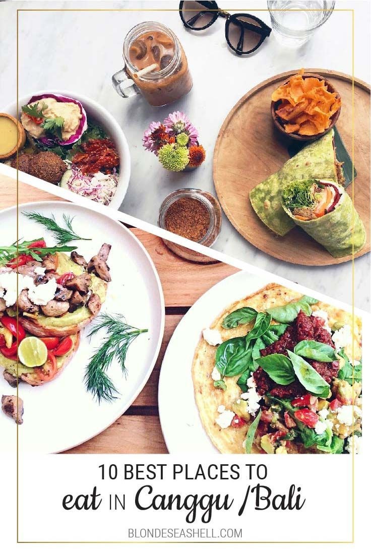 Healthy Places To Eat Breakfast  Breakfast in Canggu the top 10 places to go for healthy