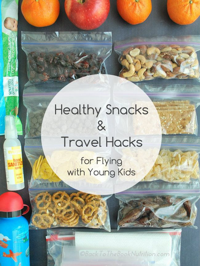 Healthy Plane Snacks  Healthy Snacks & Travel Hacks for Flying with Young Kids
