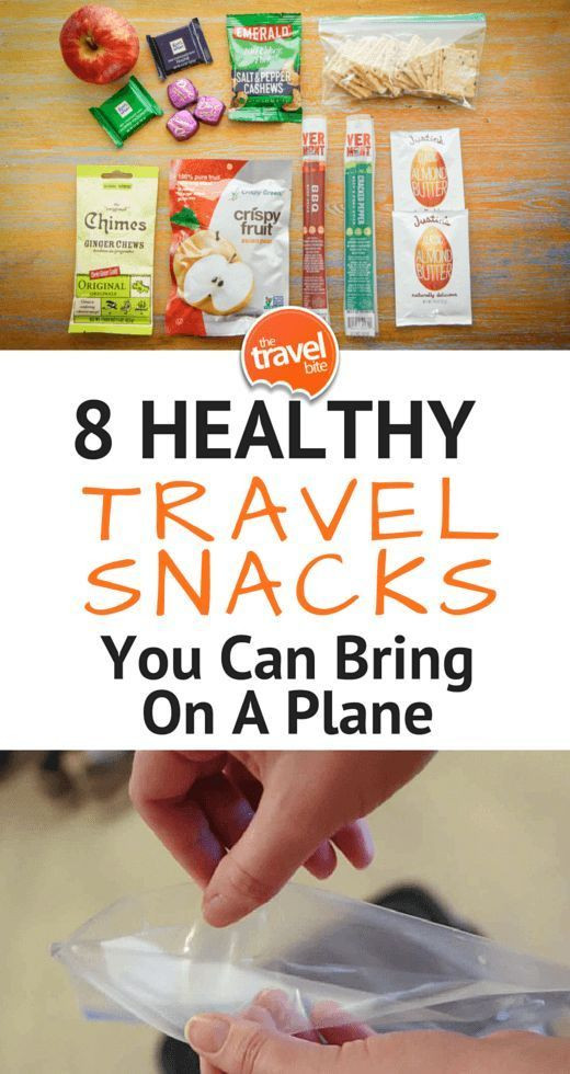 Healthy Plane Snacks  8 Healthy Snacks You Can Bring A Plane Travel ike a