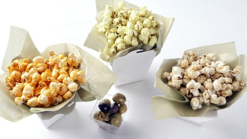 Healthy Popcorn Snacks  March Madness Party Snacks Gourmet Popcorn Recipes The