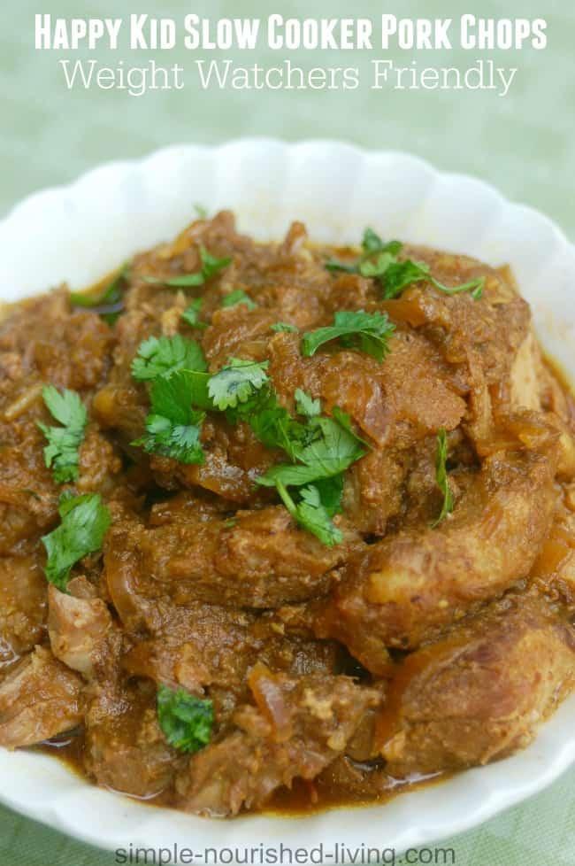 Healthy Pork Chop Slow Cooker Recipes  Happy Kid Slow Cooker Pork Chops Recipe Weight Watchers