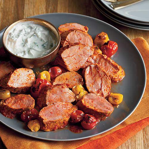 Healthy Pork Tenderloin Recipes  Spicy North African Pork Tenderloin Healthy Pork