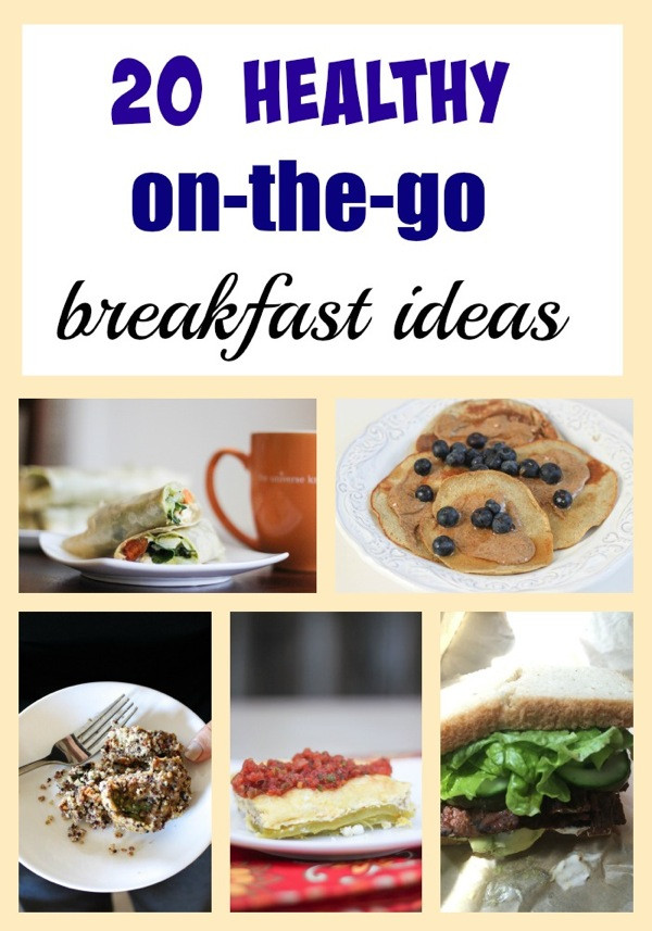 Healthy Portable Breakfast  20 healthy on the go breakfasts The Fitnessista