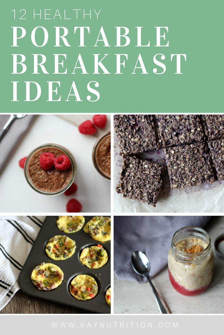 Healthy Portable Breakfast  12 Healthy Portable Breakfast Ideas Stephanie Kay