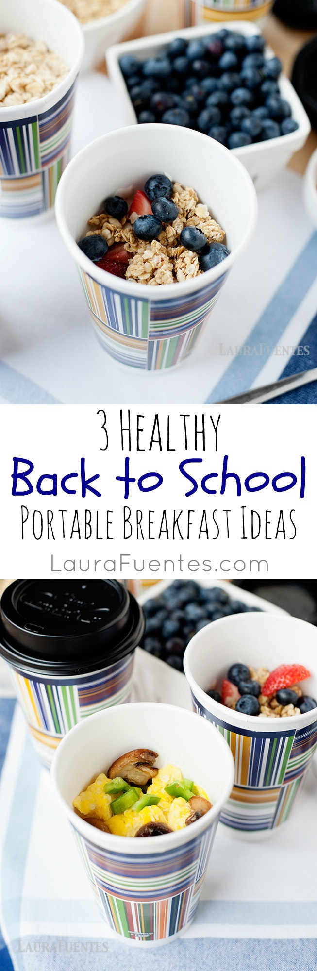Healthy Portable Breakfast  3 Healthy Back to School Portable Breakfast Ideas Laura