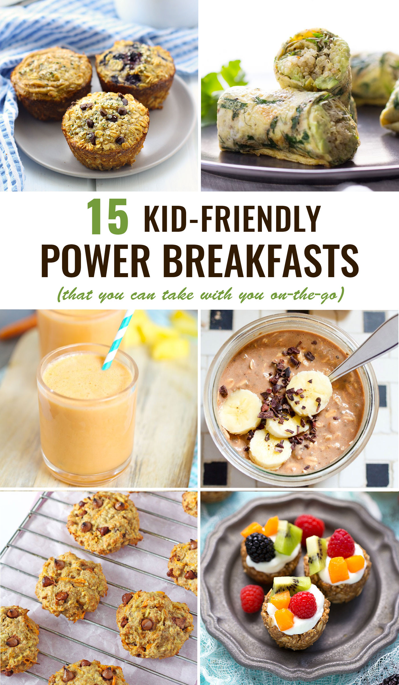 Healthy Portable Breakfast  Kid Friendly Power Breakfasts To Go