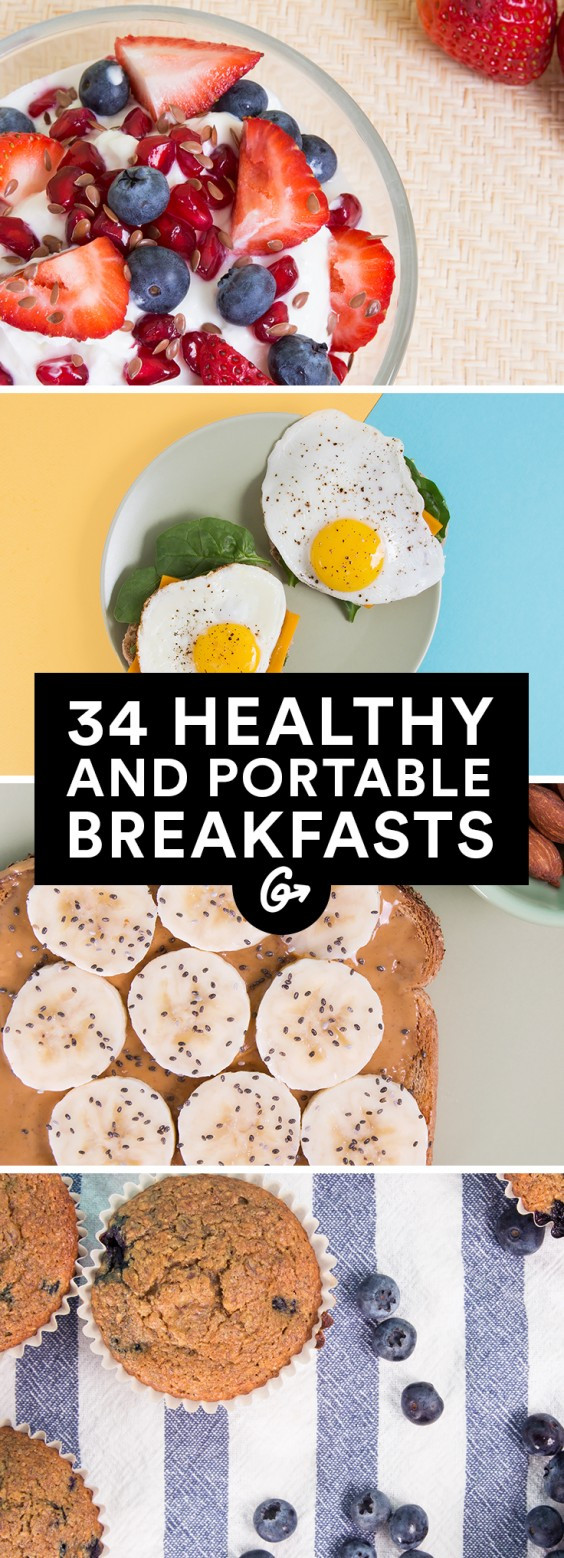 Healthy Portable Breakfast  34 Healthy Breakfasts for Busy Mornings