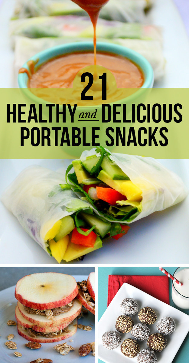 Healthy Portable Snacks  21 Healthy Portable Snacks You ll Actually Want To Eat