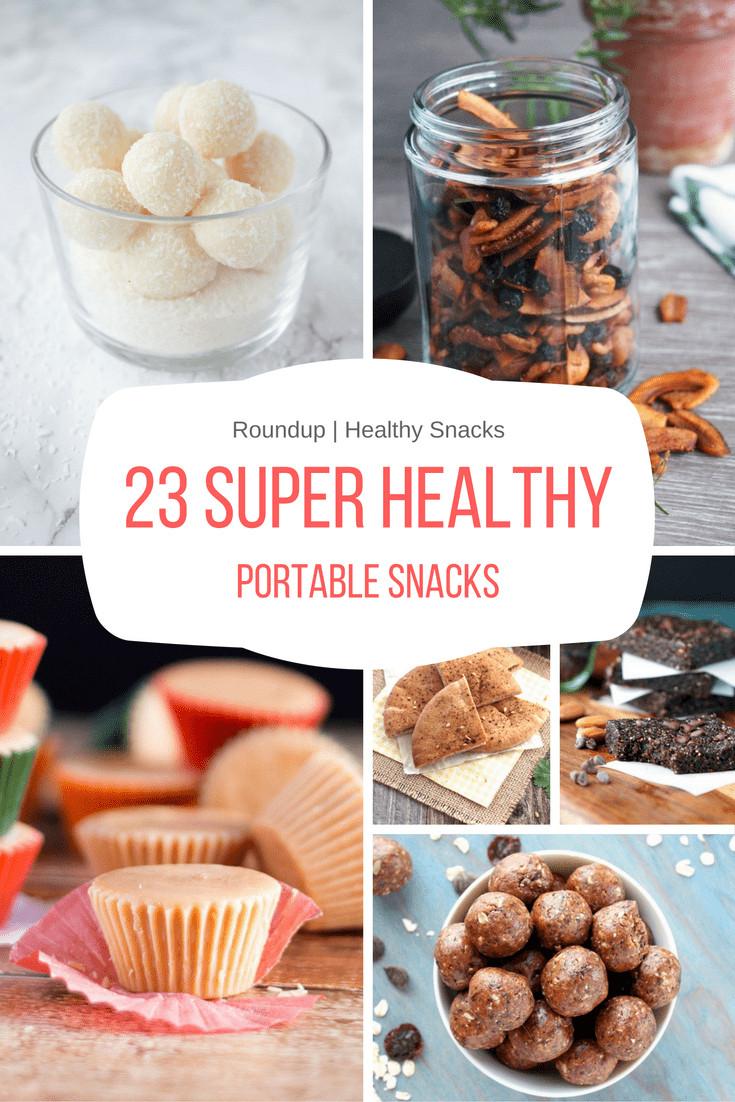 Healthy Portable Snacks  23 Super Healthy Portable Snacks Natalie s Food & Health