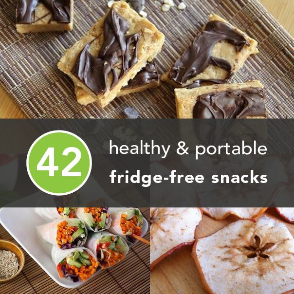 Healthy Portable Snacks  286 best images about Healthy Living on Pinterest