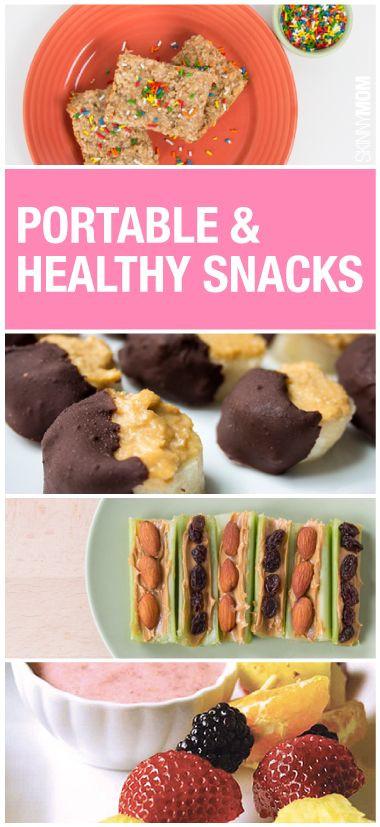 Healthy Portable Snacks  10 Portable Healthy Snacks
