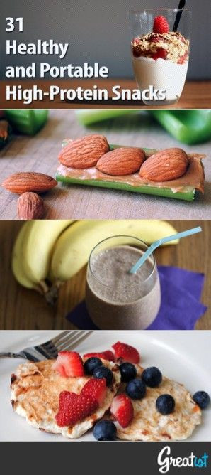 Healthy Portable Snacks  27 Portable Snacks That Have More Protein Than a Hard